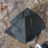 Octohedral magnetite